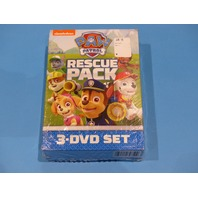 PAW PATROL RESCUE PACK DVD NEW