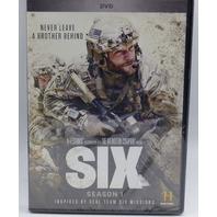 SIX SEASON ONE (SEASON 1) DVD NEW SEALED