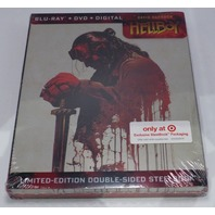 HELLBOY LIMITED EDITION STEELBOOK BLU-RAY + DVD NEW SEALED