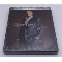 QUANTUM OF SOLACE LIMITED EDITION STEELBOOK 4K ULTRA HD + BLU-RAY LIKE NEW