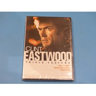 CLINT EASTWOOD TRIPLE FEATURE DIRTY HARRY ABSOLUTE POWER TIGHTROPE DVD NEW