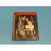 FIFTY SHADES FREED UNRATED EDITION BLU-RAY + DVD  NEW SEALED