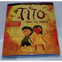 TITO & THE BIRDS BLU-RAY + DVD NEW SEALED