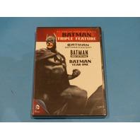 BATMAN TRIPLE FEATURE DVD NEW