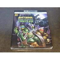 BATMAN VS. TEENAGE MUTANT NINJA TURTLES 4K ULTRA HD + DIGITAL + BLU-RAY NEW SEAL