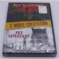 PET SEMATARY 2 MOVIE COLLECTION DVD NEW SEALED