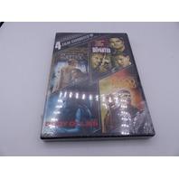 4 FILM FAVORITES LEONARDO DICAPRIO VOL.2 DVD NEW