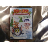 TOM AND JERRY: HOLIDAY 4 KID FAVORITES NEW DVD