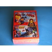 THE LEGO MOVIE, LEGO BATMAN THE MOVIE DC SUPER HEROES UNITE DVD NEW