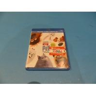 SECRET LIFE OF PETS BLU-RAY + DVD + DIGITAL NEW SEALED