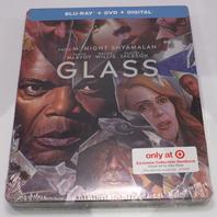 GLASS STEELBOOK BLU-RAY + DVD NEW SEALED