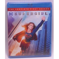 SUPERGIRL THE COMPLETE FIRST SEASON (SEASON 1) BLU-RAY W/OUT SLIP NEW SEALED