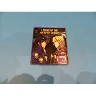 LEGEND OF THE GALACTIC HEROES SEASON 1 - BLU-RAY + DVD + DIGITAL NEW SEALED