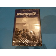 FURIOUS 7 DVD NEW
