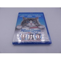 NINE LIVES BLU-RAY + DVD  HD W/OUT SLIPCOVER NEW
