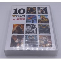 10 FILM ACTION COLLECTION DVD NEW SEALED