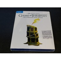 GAME OF THRONES SEASON 6 ROBERT BALL EXCLUSIVE ART BLU-RAY + DIGITAL COPY NEW