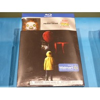 IT WALMART ONLY INCLUDES MINI FUNKO PENNYWISE KEYCHAIN BLU-RAY NEW