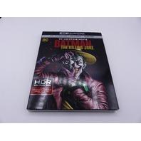 BATMAN THE KILLING JOKE 4K ULTRA HD + BLU-RAY W/ SLIPCOVER NEW