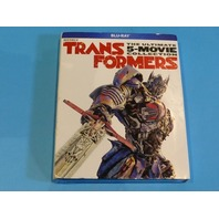 TRANSFORMERS THE ULTIMATE 5 MOVIE COLLECTION BLU-RAY NEW