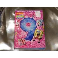 SPONGEBOB SQUAREPANTS THE COMPLETE NINTH SEASON DVD NEW