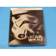 STAR WARS THE EMPIRE STRIKES BACK LIMITED EDITION STEEL BOOK BLU-RAY NEW