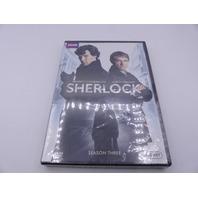 SHERLOCK SEASON THREE (SEASON 3) DVD NEW