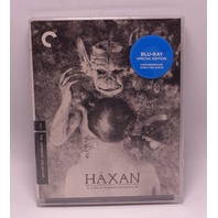 HAXAN WITCHCRAFT THROUGH THE AGES CRITERION COLLECTION BLU-RAY NEW SEALED