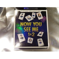 NOW YOU SEE ME 1&2 4K ULTRA HD NEW