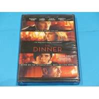 THE DINNER DVD NEW