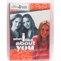 WHAT I LIKE ABOUT YOU THE COMPLETE FOURTH SEASON (SEASON 4) DVD NEW SEALED