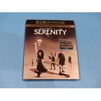 SERENITY 4K ULTRA HD + BLU-RAY  W/ SLIPCOVER NEW