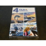 FAMILY FAVORITES FREE WILLY COLLECTION DVD W/OUT SLIPCOVER NEW SEALED