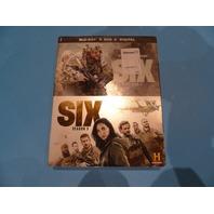 SIX SEASON ONE AND TWO (SEASONS 1 & 2) DVD BLU-RAY + DVD + DIGITAL NEW