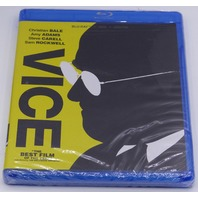 VICE W/OUT TITLE COVER BLU-RAY + DVD  NEW SEALED