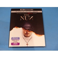 THE NUN 4K ULTRA HD + BLU-RAY + DIGITAL NEW SEALED