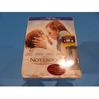 THE NOTEBOOK-COMBO PACK DVD + BLU-RAY + ULTRAVIOLET NEW