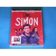 LOVE SIMON BLU-RAY + DVD  NEW