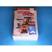 STRIKE BACK SEASONS 1-4 DVD NEW