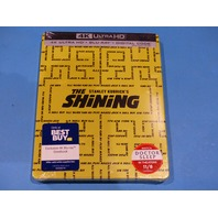 THE SHINING STEELBOOK DIGITAL + 4K ULTRA HD + BLU-RAY NEW SEALED