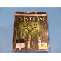 THE MATRIX RELOADED STEELBOOK DIGITAL + 4K ULTRA HD + BLU-RAY NEW SEALED