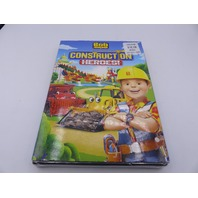 BOB THE BUILDER CONSTRUCTION HEROES DVD W/ SLIPCOVER NEW