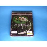 THE MATRIX 4K ULTRA HD + BLU-RAY STEELBOOK NEW