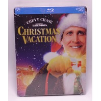 NATIONAL LAMPOONS CHRISTMAS VACATION EXCLUSIVE STEELBOOK BLU-RAY NEW SEALED
