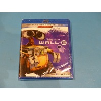 WALL-E  BLU-RAY + DVD NEW SEALED