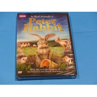 THE REAL ANIMALS OF PETER RABBIT DVD NEW