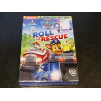 PAW PATROL ROLL TO THE RESCUE DVD NEW SEALED