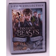 FANTASTIC BEASTS 2 FILM COLLECTION DVD W/OUT SLIP NEW SEALED