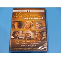 SHAKESPEARE UNCOVERED SERIES DVD NEW