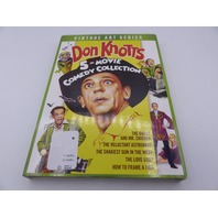 DON KNOTTS 5-MOVIE COLLECTION DVD W/ SLIPCOVER NEW